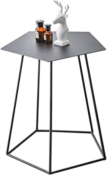 WD Table Basse Simple hexagonale en métal pour Salon ...