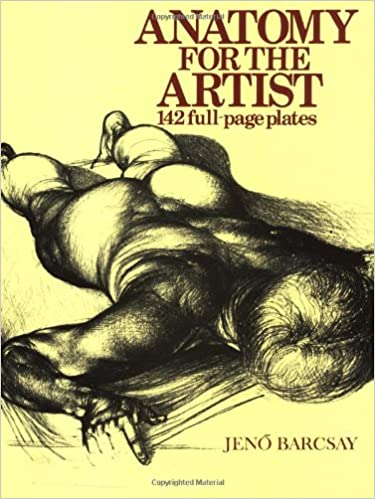 Amazon.com: Anatomy For The Artist (9781586631741): Jeno Barcsay: Books
