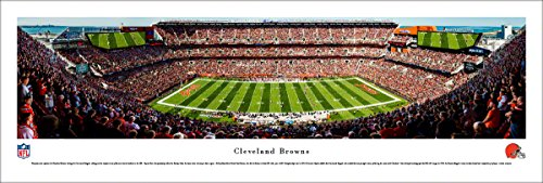 Cleveland Browns - Blakeway Panoramas Unframed NFL Print