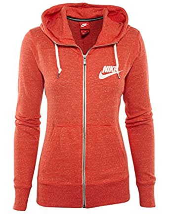 [545665-696] NIKE WMNS NIKE GYM VINTAGE FULL-ZIP APPAREL HOODY NIKELIGHT