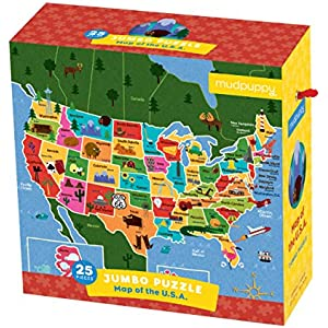 Mudpuppy Jimmy Fallon Jumbo Puzzle