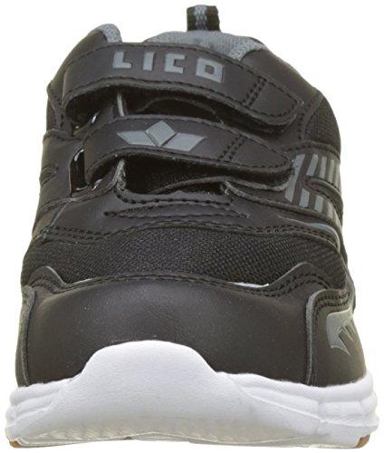GEKA Streetball V, Zapatillas Para Niños Negro (Schwarz/grau Schwarz/grau)