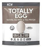 Designer Protein Totally Egg, Dutch Chocolate, 12.4 Ounce, Egg White & Yolk Protein Powder