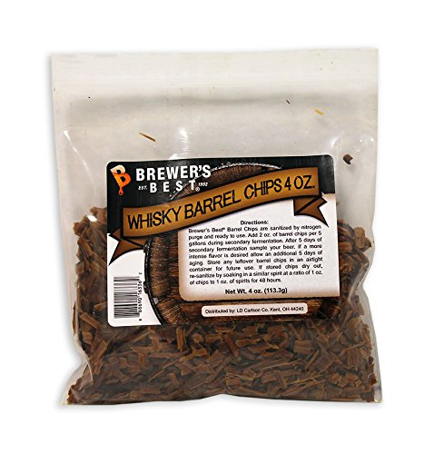 North Mountain Supply Brewer's Best Barrel Chips Whisky, 4 oz.