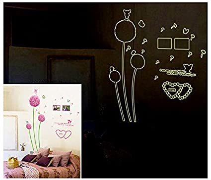 Glow in Dark Night Glow Stickers Romantic Collection