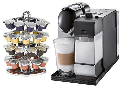Amazon.com: DeLonghi Lattissima Plus en520sl Plata Nespresso ...