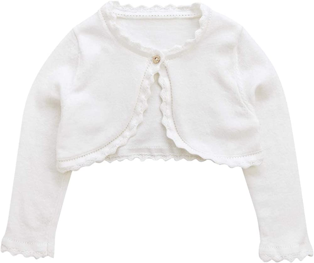 Girls Knit Long-Sleeved Sweater Childrens Woollen Sweater Baby Girl/'s Open Front Cardigan Shawl Winter