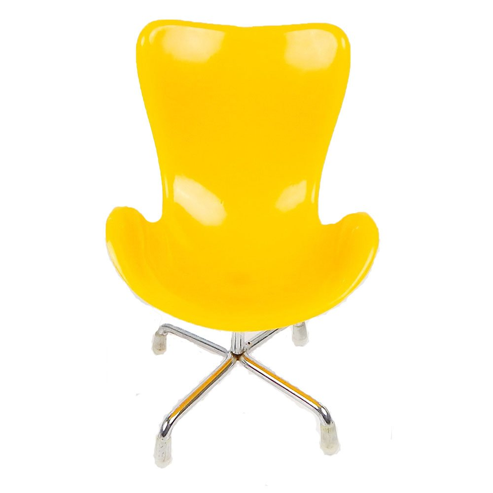 seat eames felt pad yellow pads plastic yel chair werktat en suitable for