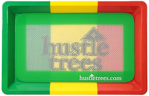 - Hustle Trees Men's Ht Rolling Tray, Rasta One Size