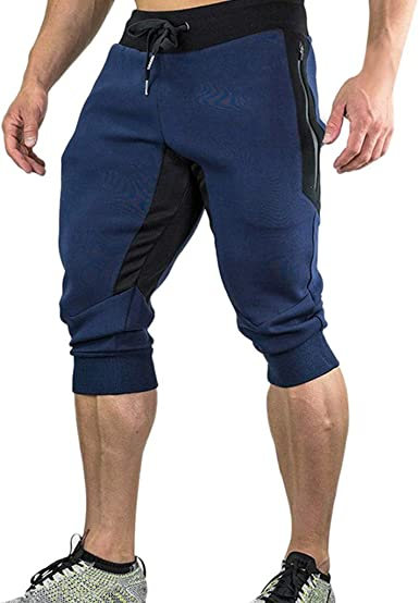 Pantalón Corto de Deporte para Hombre,Hombres Verano Casual ...
