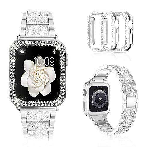 Malla Para Apple Watch Brillante Series6/5/4/3/2/1/gris 44mm
