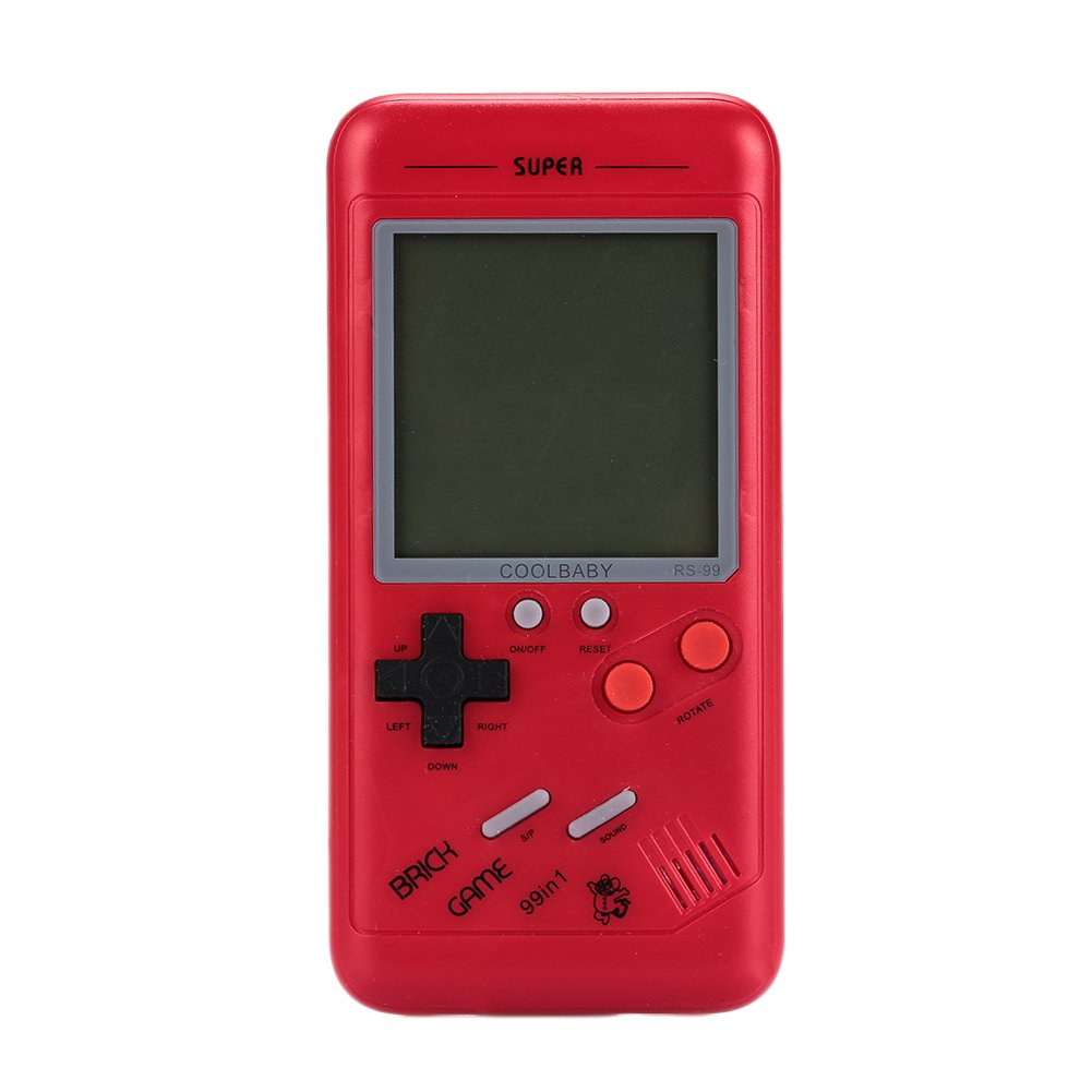 Hanbaili Portable Video Handheld Tetris Game Console For Kids
