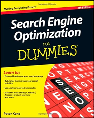 Are Search Engines Making Students >> Search Engine Optimization For Dummies Peter Kent 9780470881040