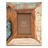 Matr Boomie Handmade Rustic Wooden Frame Tabletop Wall 4x6