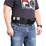 "LIRISY XL Belly Band Holster for Concealed Carry | Neoprene Waist Band Fits Up to 54"" Belly 