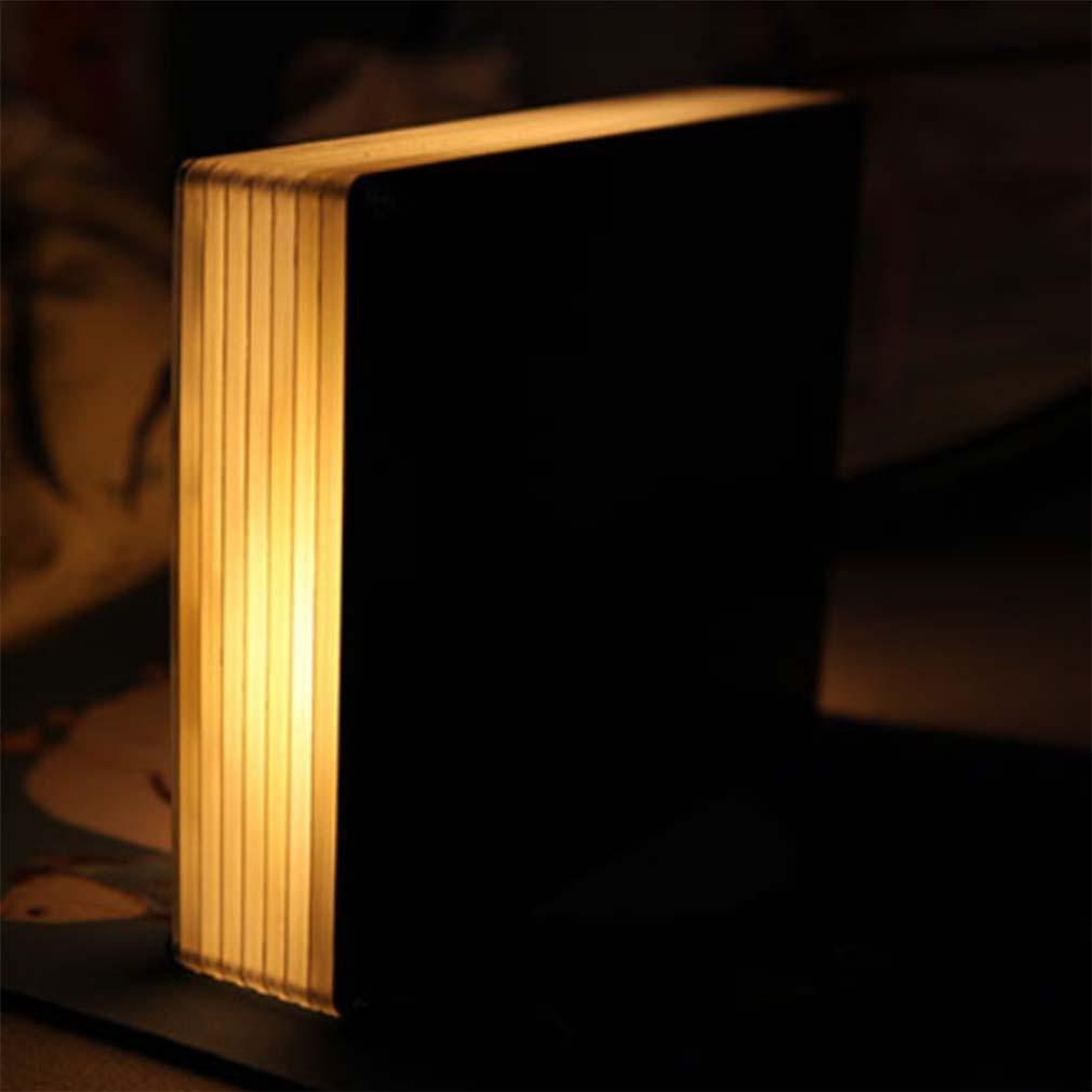 moxin Creativo 3D Night Light Shadow Paper USB Lámpara de de Lámpara Carga IY Bedside Lamp Dormitorio Sala de Estar Regalo romántico, Remote Control Switch fec984