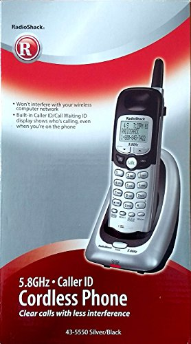 Radio Shack 5.8GHz Caller ID Cordless Phone (Radio Shack Caller Id)