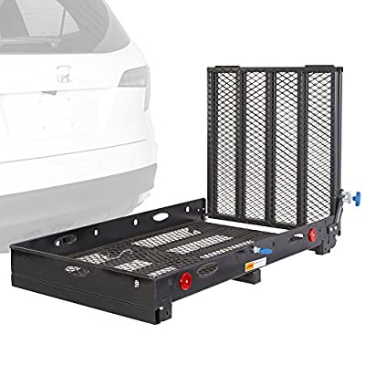 Silver Spring SC500-V3 Mobility Hitch Carrier Rack for Powerchair Scooter Wheelchairs