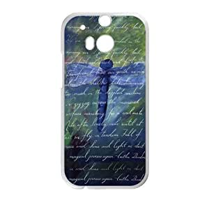 Canting_Good Dragonflies Custom Case Shell Skin for HTC One M8 (Laser Technology)