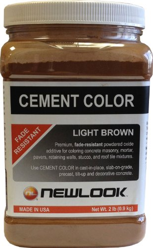 Cheap  CEMENT COLOR 2 lb. Light Brown Fade Resistant Cement Color