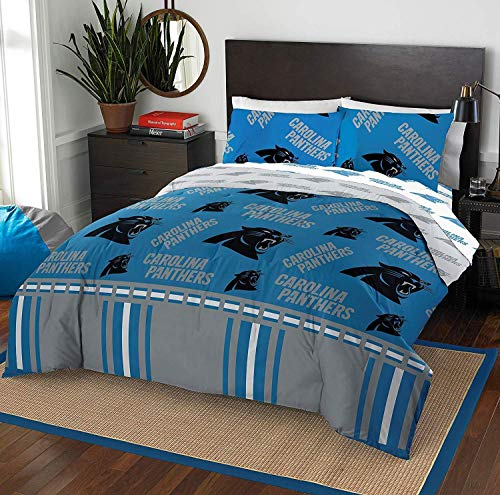 Carolina Panthers The Northwest Company 5-Piece Full Bed in a Bag Set. List  Price   89.99. Sale Price   67.49. Store  Fanatics. Carolina Panthers  Bedding 5efd7c8cb