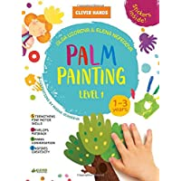 Palm Painting. Level 1: Stickers Inside! Strengthens Fine Motor Skills, Develops Patience, Sparks Conversation, Inspires Creativity (Clever Hands)