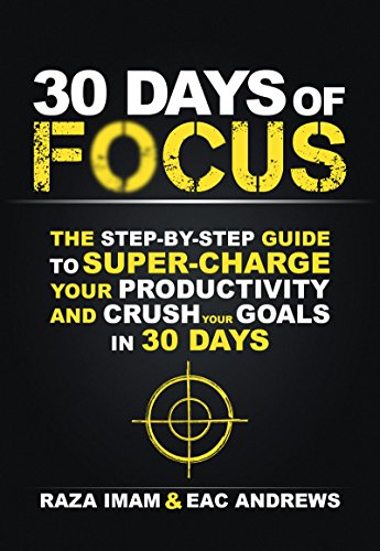 30 Days Of Focus by Raza Imam ebook deal