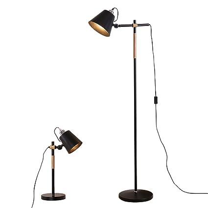 GJIF - Lámpara de pie Lámpara de pie de Hierro de diseño ...