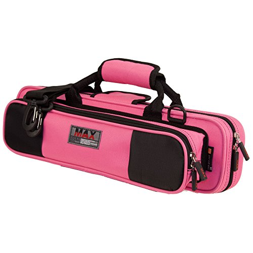 Protec Flute (B or C Foot) MAX Case - Fuchsia, Model for sale  Delivered anywhere in USA