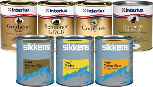 Interlux Y60/QT Gold Spar Satin Varnish (Quart), 32. Fluid_Ounces