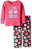 Carter's Baby Girls' 2 Pc Fleece 337g151, Hot Cocoa Pink, 18M