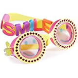 Girls Swim Goggles by Bling2o - Be Happy Kids UV Protection Swimming Goggles
