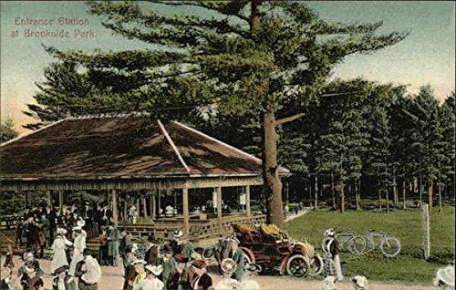 Brookside Park Athol, Massachusetts Original Vintage Postcard ()