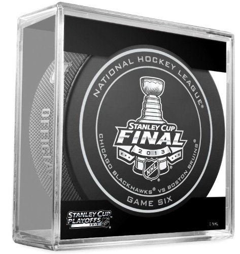 2013 Stanley Cup Finals: Chicago Blackhawks vs. Boston Bruins Official Game 6 Puck