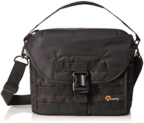 Lowepro Pro Tactic SH 180 AW. Shoulder Camera Bag for Mirrorless or DSLR Kit and Mini Tablet. - 180 Aw Camera Bag