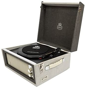 GPO Bermuda Turntable With MP3 And USB