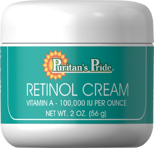 Puritan's Pride 2 Pack of Retinol Cream (Vitamin A 100,000 IU Per Ounce) Puritan's Pride Retinol Cream (Vitamin A 100,000 IU Per Ounce) 2 Cream