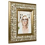 Craig Frames Barroco, Antique Silver Baroque Picture Frame, 16 by 20-Inch
