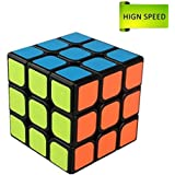 MerryNine Professional Speed Rubik's Cube 3x3x3, Durable Smooth Puzzle Toys Portable for Adults (Standard)