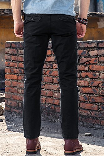 INFLATION Mens Slim-Fit Cargo Cleaning Pants - back