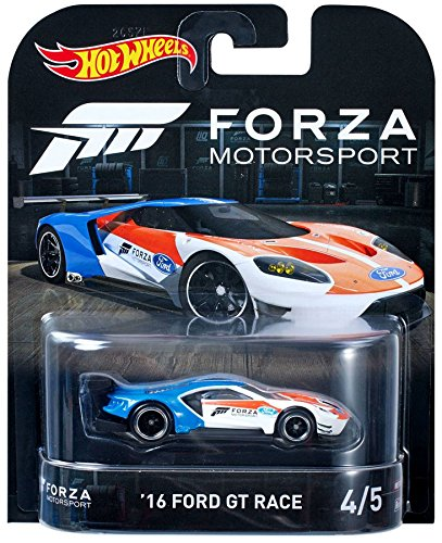 Amazon Com Hot Wheels 16 Ford Gt Lm Vehicle Toys Games