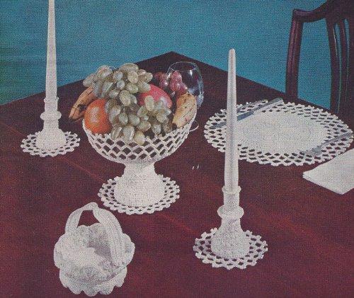 Vintage Crochet PATTERN to make -