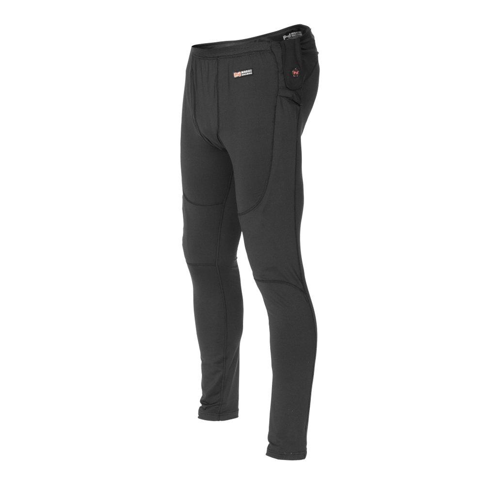 Mobile Warming Unisex-Adult Longman Heated 7.4v Pants (Black, Large)