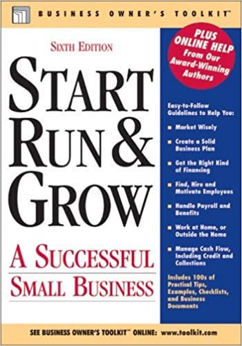 start run grow a successful small business business owner s
