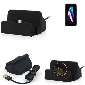K-S-Trade Base de Carga para BQ Aquaris V Micro USB Cargador ...