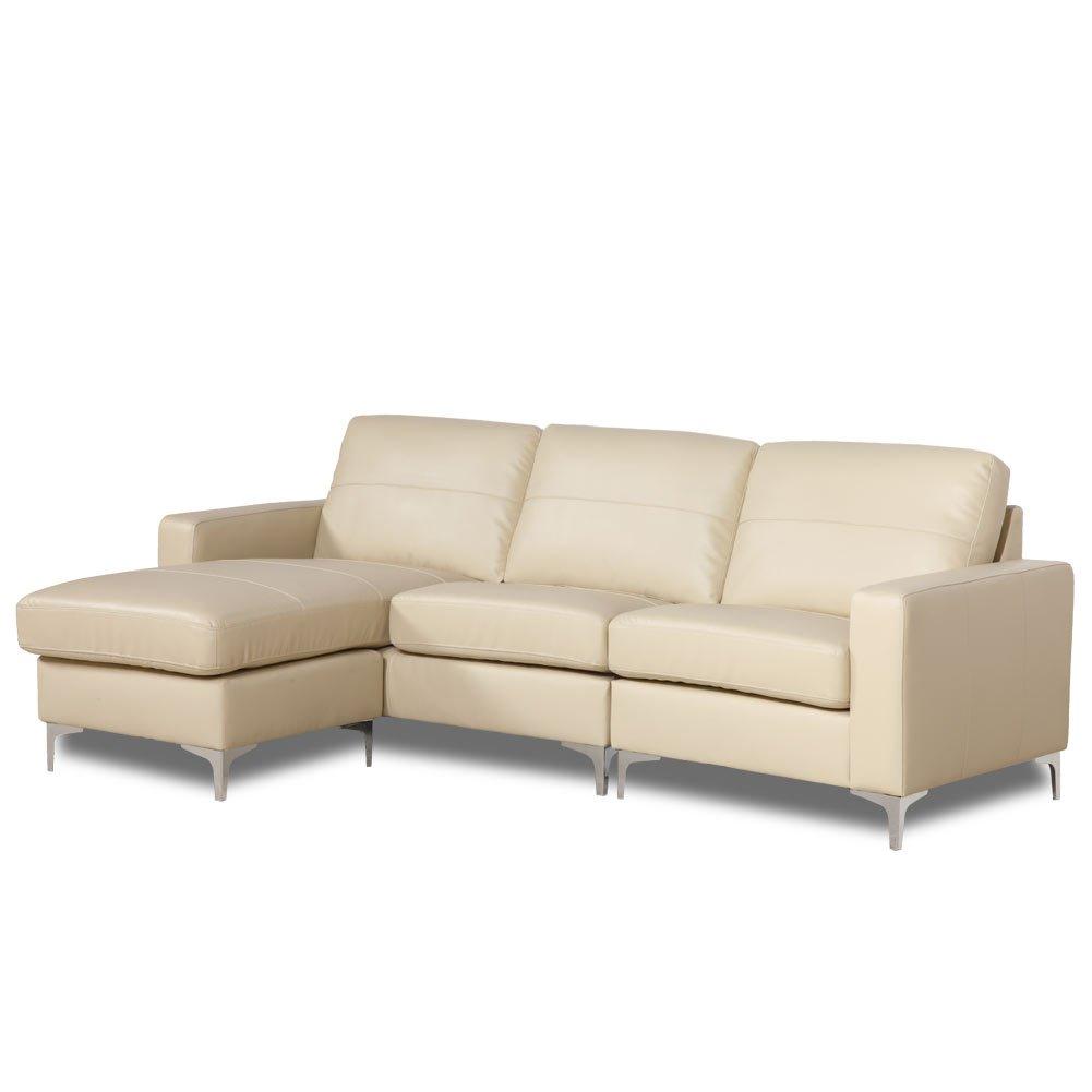 Crema de sofá de la esquina Sutton Reversible worldstore ...
