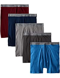 Men's 5-Pack FreshIQ Dyed Boxer Brief - Colors May Vary,