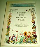 Front cover for the book Round the Swedish year by Lorna Downman