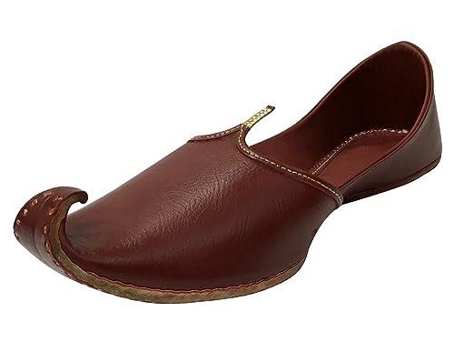 Mens Khussa Shoes Mojari Punjabi Jutti Handmade Jooti Ethnic Boho