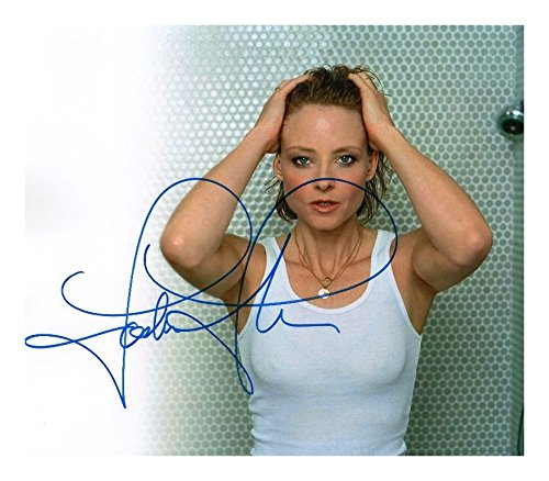 Photo Jodie Foster Signed Autographed 8 x ()